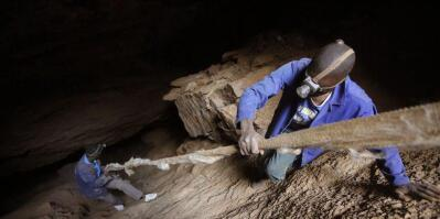 An illegal miner in Ghana stabbed his relative to death over US$1 after they argued about splitting the day's earnings. File photo: Twitter/@ENACT_Africa
